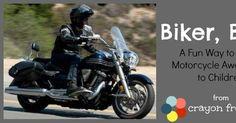 Crayon Freckles: Biker, Biker: A Game to Teach Motorcycle Awareness to Children