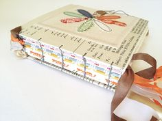 Rebecca Sower handmade coptic stitch journal