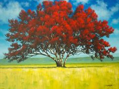 Standing In Sun Covered Fields - 30 X 40 - Acrylic on Canvas - Tim Gagnon Studio offers a wide variety of online and DVD instructional art lessons in acrylic and oil. He has over 7000 students from around the world and his paintings are collected in over 30 different countries. Visit www.timgagnon.com for more information!