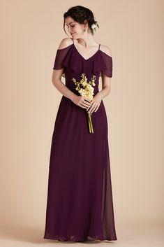 02abfbe96f62 Birdy Grey Bridesmaid Dress Under  100 - Jane Convertible Dress in Raisin -  Delicate Draped Panel