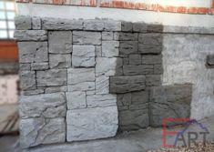 Создание каменной кладки из архитектурного бетона