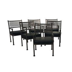 Wrought Iron U0026 Vinyl Patio Chairs   They Are Made Of Steel All Welded With  Riveted. Outdoor Furniture StoresOntario CaliforniaPatio ...