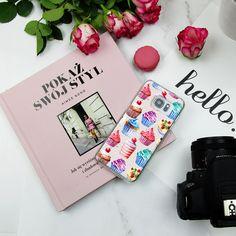 Sweet cupcakes od phonecase for Samsung Galaxy S6 <3 Love! Słodkie babeczki na etui do telefonu Samsung Galaxy S6 #etui #babeczki #cupcakes #flatlay #pastels