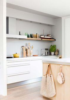 Keuken bij Suzanne en Ray uit aflevering 1, seizoen 5 | Weer verliefd op je huis | Make-over door: Frans Uyterlinde | Fotografie Barbara Kieboom