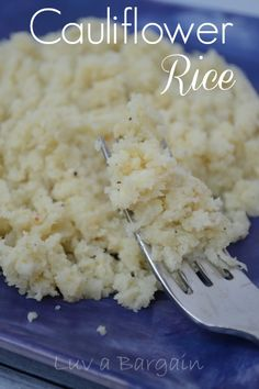 Cauliflower Rice  --  You won't believe how wonderful this simple recipe is.