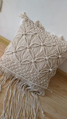 Macrame Design, Macrame Art, Pillow Covers, Bed Covers, Boho Cushions, Beige Pillows, Throw Pillows, Dark Grey Couches, Bussiness Card