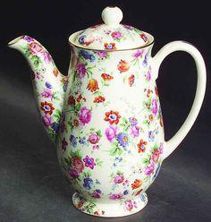 Erphila DORSET (GOLD TRIM) 3 Cup Small Coffee Pot 4639604 #Erphila