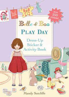 Sticker und Rätselbuch PLAY DAY von Belle & Boo in Englisch