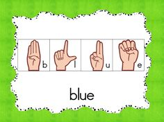 FREE pre-primer sight word cards-  Mrs. Lirette's Learning Detectives: Currently & Sign Language in the Classroom {Freebie}