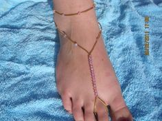 barefoot beading