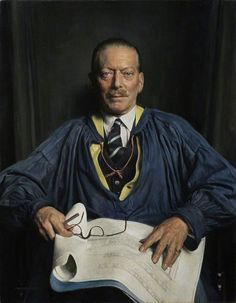 Portrait Of Michael Theodore Waterhouse CBE, PRIBA by David Jagger Date painted: Oil on canvas, x cm Collection: The Royal Institute of British Architects Robert Baden Powell, Uk Culture, Basic Painting, Modern Portraits, Art Of Man, Cap And Gown, English Artists, Singer Sargent, Art Uk