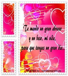 tarjetas de buenos dias para mi amor,versos de buenos dias para mi amor: http://www.consejosgratis.es/fantasticas-frases-de-amor-para-decir-buenos-dias/