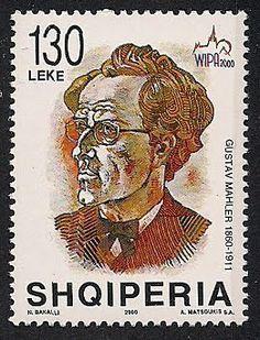 Albania Stamps   Stamps of Gustav Mahler