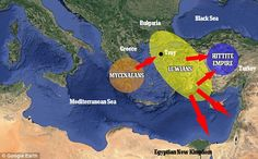 Shortly after, the Mycenaean kings in Greece banded together to destroy the Luwians, who c...