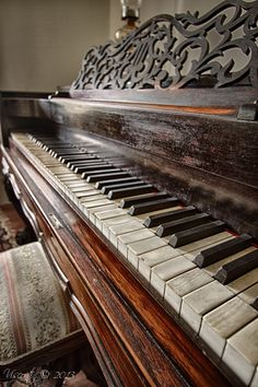 I can only imagine the emotion and the passion in the music those keys produced over the years!