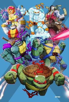 TMNT X-Men amalgam