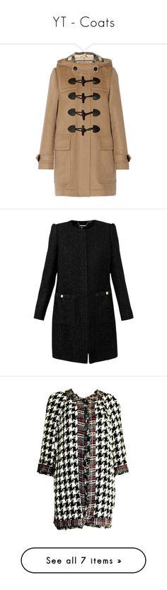 """YT - Coats"" by gracebeckett ❤ liked on Polyvore featuring outerwear, coats, jackets, coats & jackets, burberry, camel, camel wool coat, burberry coat, toggle coat and camel duffle coat"