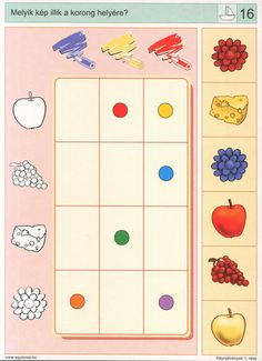 * Visuele discriminatie: kleur! Preschool Math, Preschool Worksheets, Kindergarten, Math For Kids, Games For Kids, Visual Perception Activities, Sequencing Cards, Autism Classroom, Book Activities