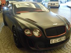 Matt Black Bentley - Dubai