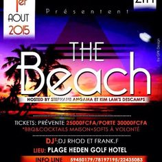 Are you coming to my beach party? 🌅🌅Saturday August 1 @ the Golf Hotel.
