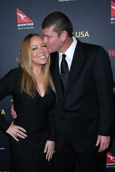 Mariah Carey and James Packer Make Their Red Carpet Debut as an Engaged Couple — Plus See Her HUGE Ring!