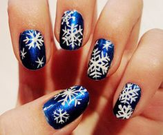 Pure Spa Direct Blog: Holiday Designs For Nails!!