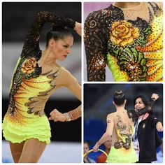 Rhythmic gymnastics #leotard: Carolina Rodriguez (Spain), hoop 2016 (photos by Oleg Naumov, IndreKask)