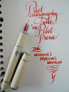 For some reason, today was old-pen-is-that-you day. I found an italic nib from an old Parker calligraphy set, and decided to go to National Bookstore in Greenbelt over lunch to buy a Vector to fit … Calligraphy Set, Calligraphy Worksheet, Chinese Calligraphy, Dog Pen, Fountain Pen Nibs, Best Pens, Penmanship, Art Graphique, Pen And Paper