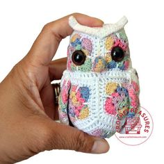 Olivia the Owl - Crochet Treasures | Scott's Marketplace