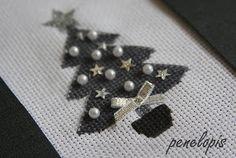 Penelopis' cross stitch freebies: Choinka/Christmas tree