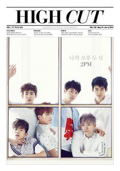 2014.05, High Cut, Vol. 126, 2PM, Wooyoung, Nickhun, Jun.K, Chansung, Junho, Taecyeon