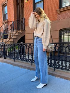It's Official—These Are the Best Denim-and-Boots Outfits We've Seen This Fall
