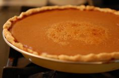Cooked Pumpkin Pie