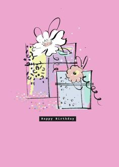 Leading Illustration & Publishing Agency based in London, New York & Marbella. Happt Birthday, Friend Birthday, Happy Birthday Quotes, Happy Birthday Greetings, Birthday Pictures, Birthday Images, Bohemian Birthday Party, Beautiful Birthday Wishes, Birthday Background