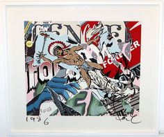 Framed 'Tender Forever' (Signed Limited Edition Relief Print of 315) by Faile