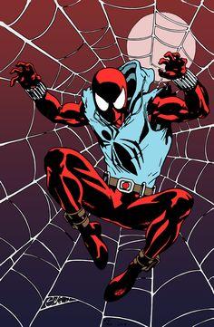 Marvel Comic Universe, Marvel Comics Art, Marvel Heroes, Marvel Characters, Spiderman Art, Amazing Spiderman, Scarlet Spider Ben Reilly, Spider Carnage, Arte Nerd