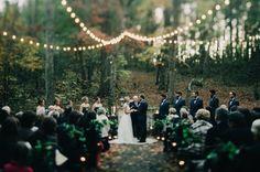Fairytale woodland ceremony