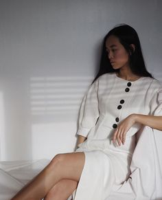"2,067 Likes, 28 Comments - maria van nguyen (@mariavannguyen) on Instagram: ""linen dress from @mango's sustainable collection #mangocommitted #mangogirls #mango """