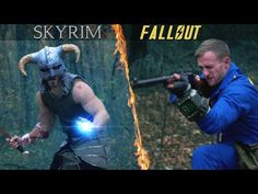 """""""Fallout vs Skyrim"""" Mashup Video Is One Heck Of A Battle [Video]"""