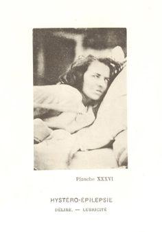 Jean-Martin Charcot, Hystero-Epilepsie, XXXVI, aus dem Band: Iconographie Photographique de la Salpétriêre, Dritter Band, Paris, 1879-1880. (via archivelossofcontrol)