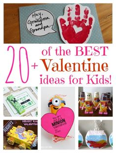 20 of the BEST Valentine ideas for Kids! KitchenFunWithMy3Sons.com