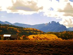 The Castles - out Ohio Creek Road between Gunnison and Crested Butte.