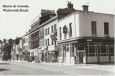 Walworth Road Vintage London, Old London, Old Fashioned Photos, Elephant And Castle, London Pubs, South London, Family History, Old Photos, England