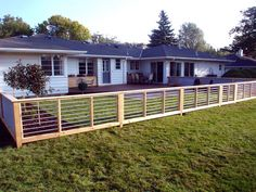Fence for dogs yard