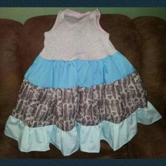 Twirly tank dress