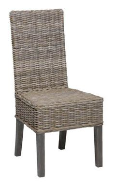 This grey wicker is catching my eye Dining Table Makeover, Wicker, Accent Chairs, Inspirational, Eye, Furniture, Home Decor, Upholstered Chairs, Decoration Home