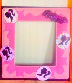 Barbie photo frame