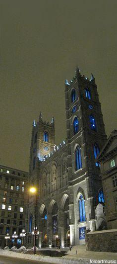 Notre Dame Cathedral, Montréal, Canada