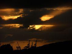 Cloudy sunset @ Ensenada, Baja California.