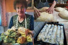 recept_na_strudl_z_madarska Korn, Tacos, Dairy, Cheese, Chicken, Meat, Ethnic Recipes, Buffalo Chicken, Grains